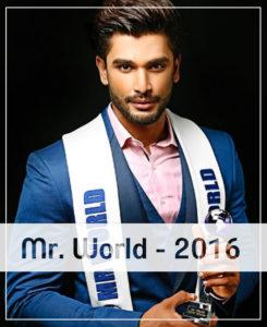 Mr. World 2016