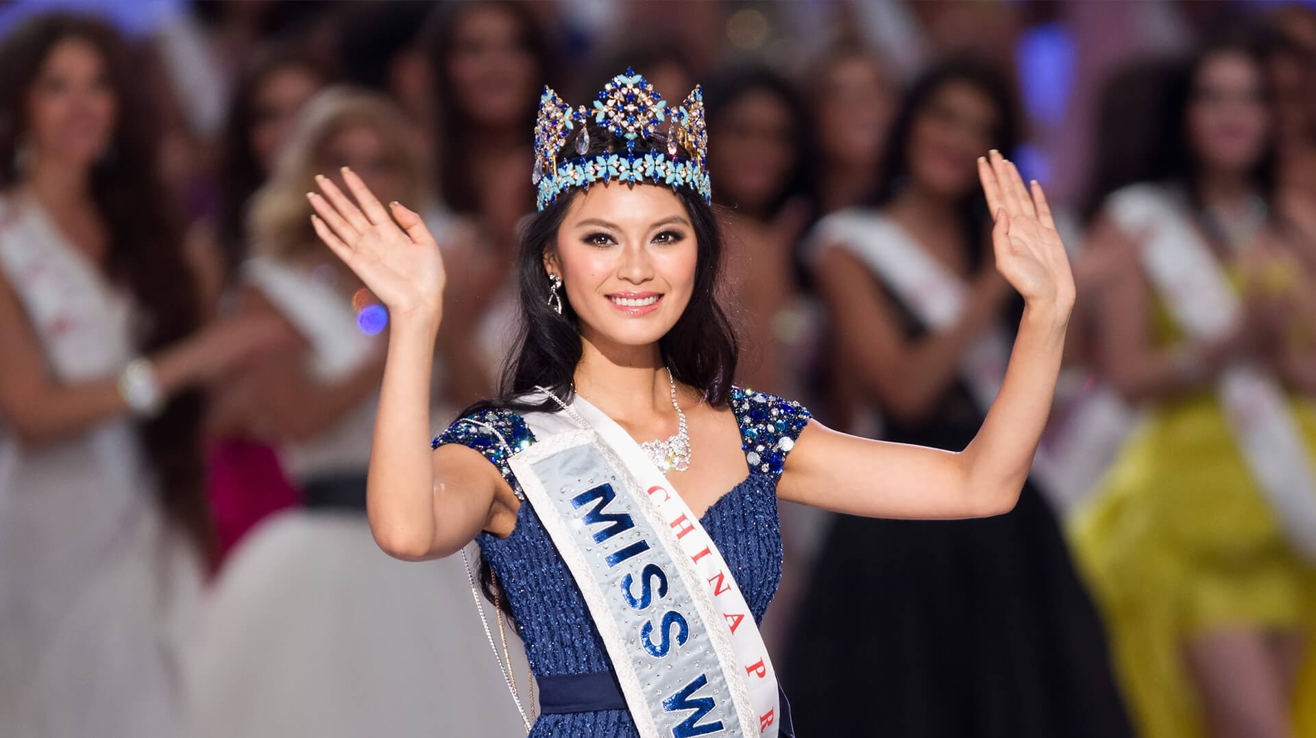 Miss World 2012  Yu Wenxia